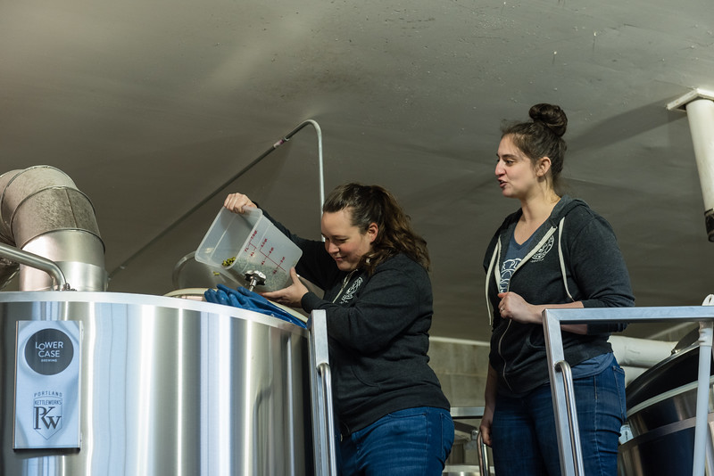 Pink Boots Brew Day