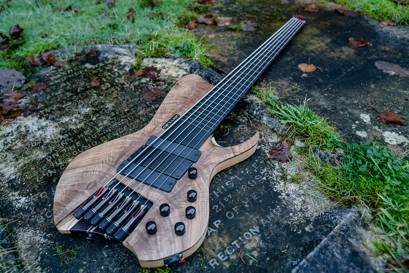 Carillion Bass 6 Fretless - Arran McSporren - 30th November 2019