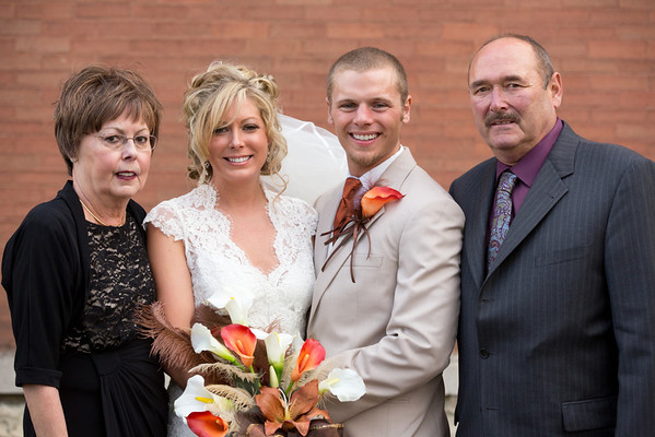 Bryan and Abbi Wedding - Family