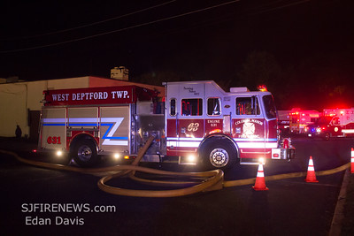 10-11-2014, 2 Alarm Building, Westville, Gloucester County, Edgewater Ave and Deadline Dr.