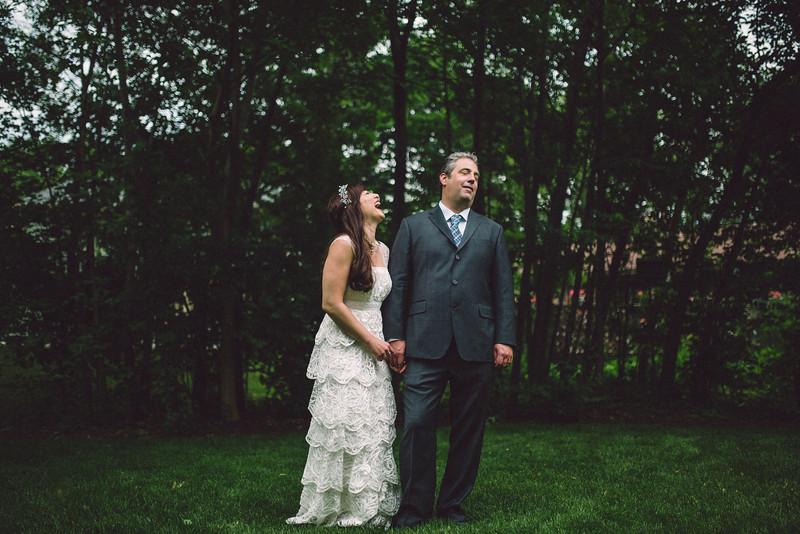 Summer Garden Wedding Familly Portraits