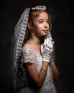 Nicole First Holy Communion