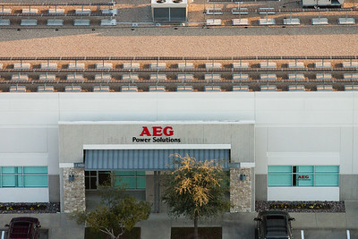 AEG Solar Panels Aerials