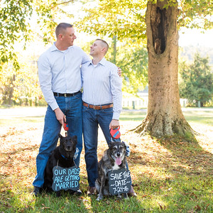 Tom & Joe's Engagement Portraits