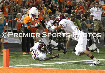 La Porte Varsity Football vs Deer Park 9/23/2011