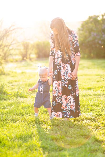 Bella and Leah Easter Egg Hunt 2019