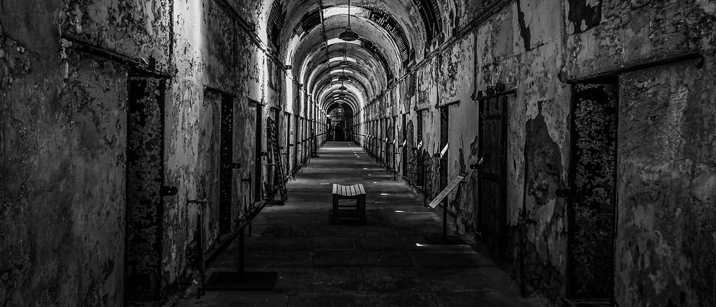 滨州东部州立监狱(Eastern State Penitentiary),很震撼的一幕