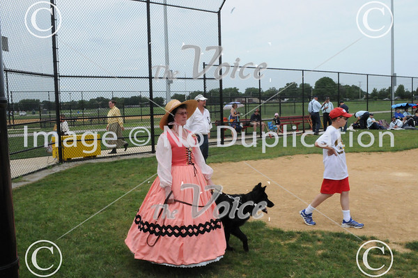 Old Time 1850s Base Ball game in Oswego,IL 6-25-11