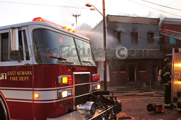 HARRISON, NJ 2ND ALARM 2ND ST AND RAILROAD AVE 12/24/11