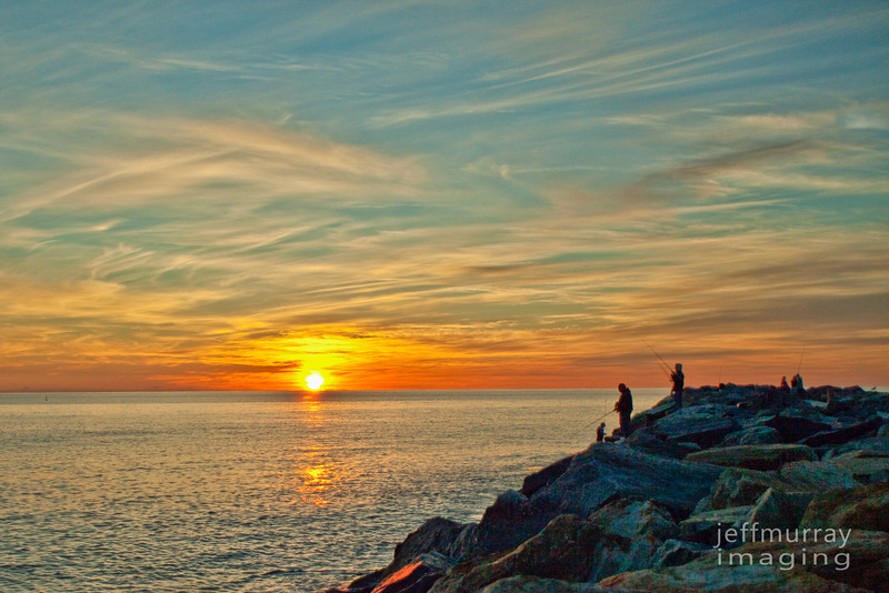 Sunset fishin'