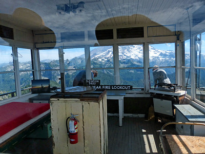 Tolmie Peak Fire Lookout - July 28, 2021