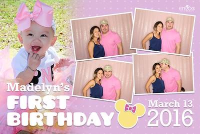 Madelyn's 1st Birthday (prints)