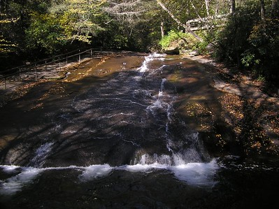 The Sliding Rock, Pisgah National Forest, Western North Carolina
