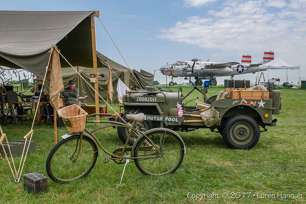 WWII Weekend 2017 - ReEnactor Camps, Statics & Vehicles - Reading, PA