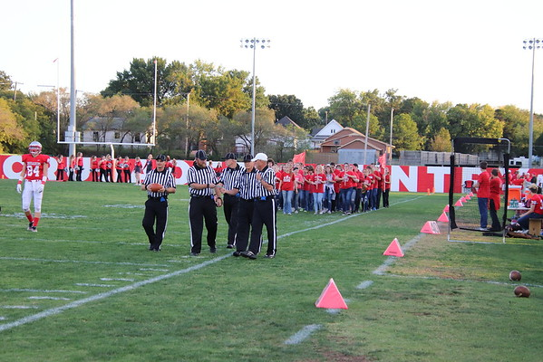 WHS Varsity Football vs Labette Co.  100518