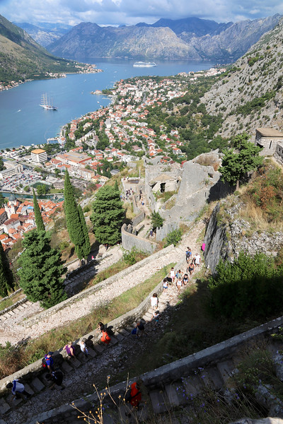 Still hiking - Kotor, Montenegro