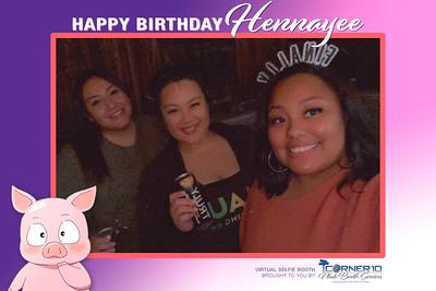 Hennayee's Birthday