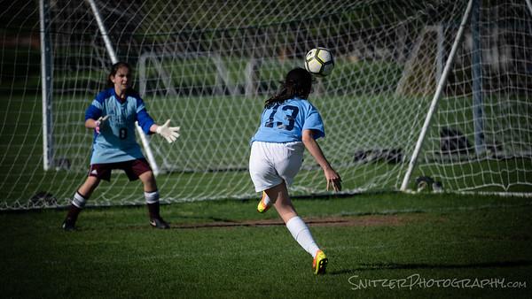 Soccer Mid School v U High 2018