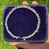 9.50ctw Round Brilliant Diamond Tennis Bracelet 51