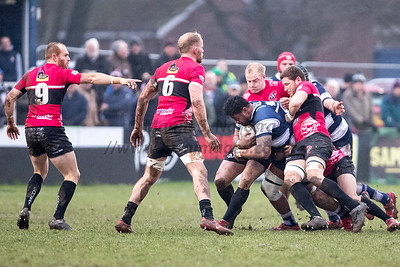 Coventry Rugby vs Cornish Pirates 19th Jan 2019