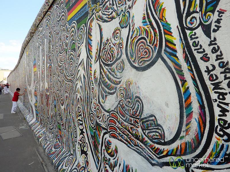 East Side Gallery, Berlin Wall - Friedrichshain, Berlin
