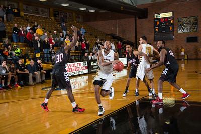 Cu vs Bacone Men basketball