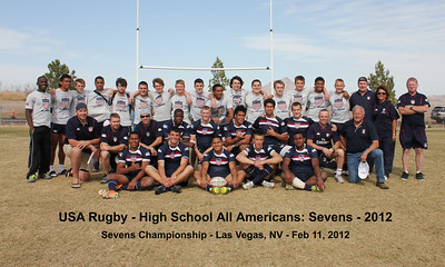 Rugby - USA HS All Americans Las Vegas Sevens - 2012