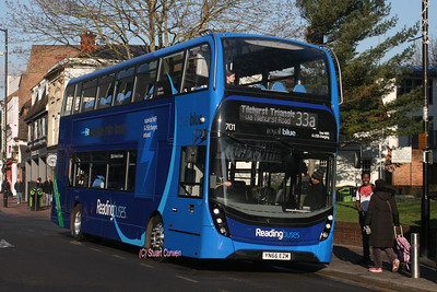 701, YN66EZM, Reading Buses, St Mary's Butts.