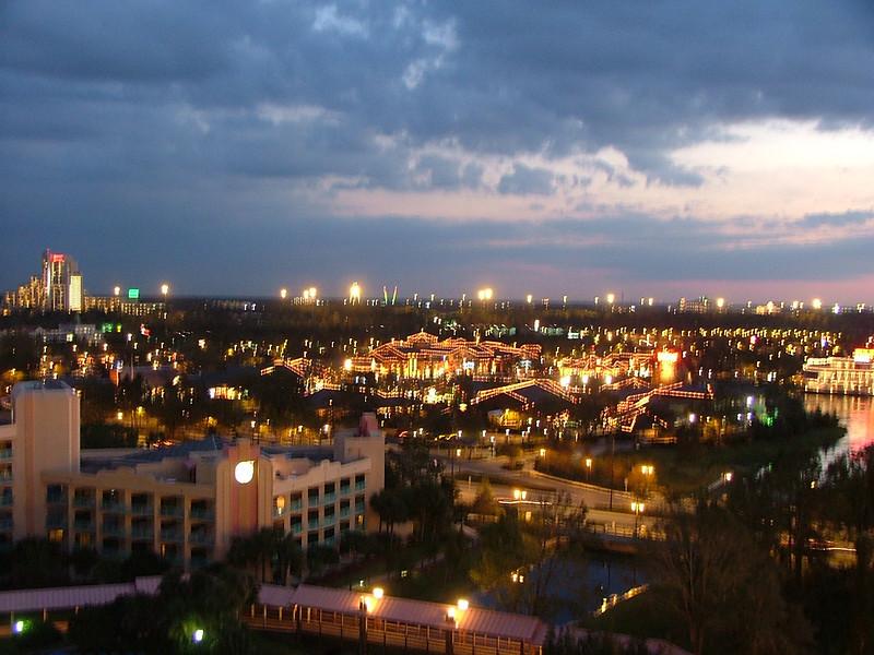 Evening in Orlando