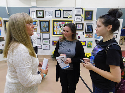 Youth detention center holds annual art show