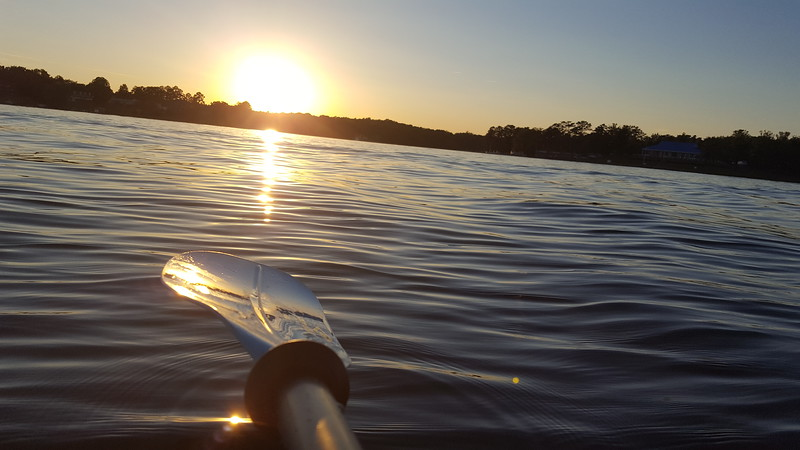Sunset Kayaking - Lake Murray - 5-26-2017