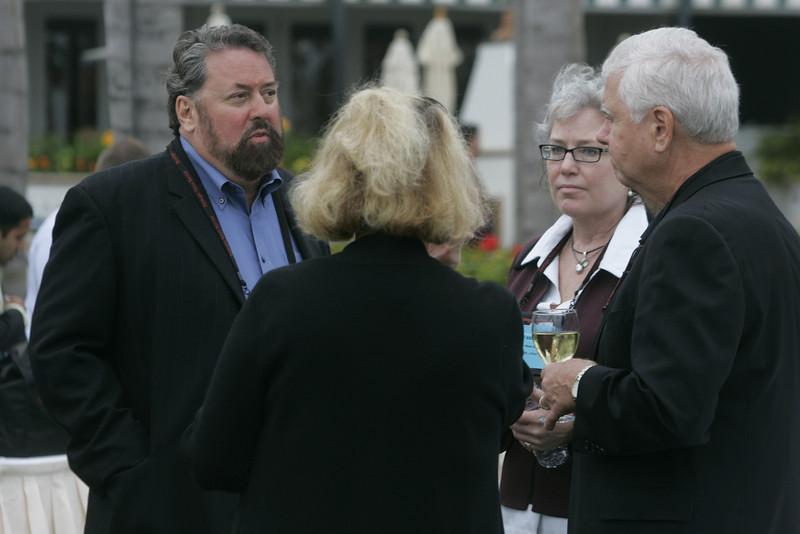 (L-R) Mark Anderson, Mrs. Rick LeFaivre, Sally Anderson, and Rick LeFaivre