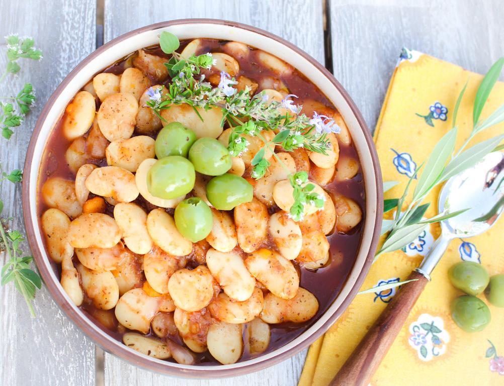 Cretan Gigantes Beans