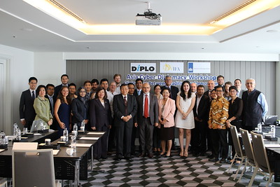 Asia Cyber Diplomacy Workshop (Bangkok, August 2015)