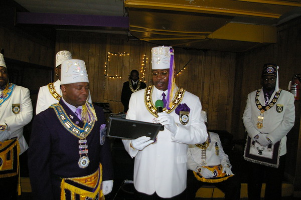 """Pride of Vance Elks Lodge""  Exalted Ruler Ball"