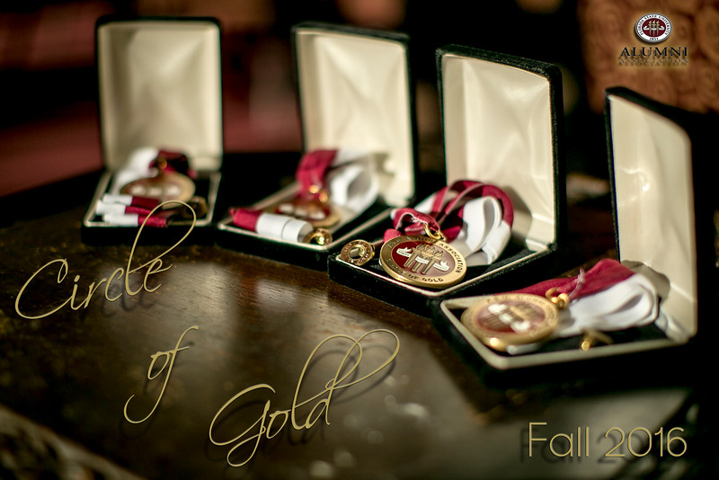 Circle of Gold 2016 - Fall Ceremony