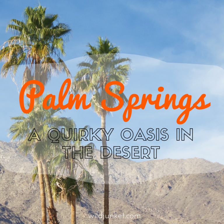 Quirky Palm Springs