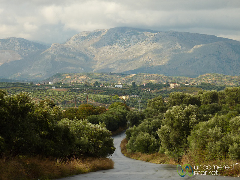Cretan Landscape and Agriculture - Crete, Greece