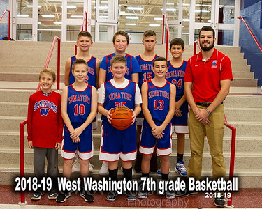 2018-19 Jr High Boys Basketball