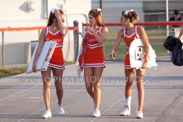 Winter Park @ Boone High School Varsity Cheer - 2010