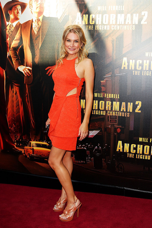 ". Kym Jackson arrives at the ""Anchorman 2: The Legend Continues\"" Australian premiere at The Entertainment Quarter on November 24, 2013 in Sydney, Australia.  (Photo by Lisa Maree Williams/Getty Images)"