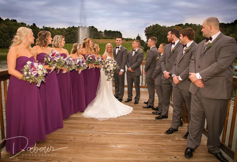 Heather and Derek Formal Wedding Photographs