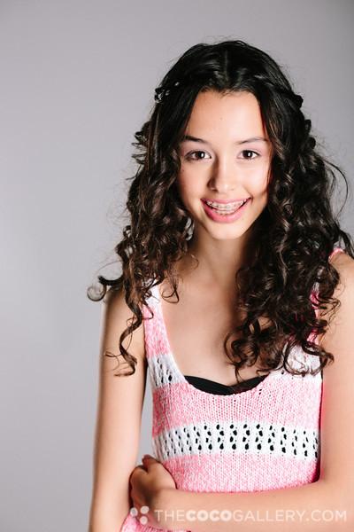 Isabella modeling shots