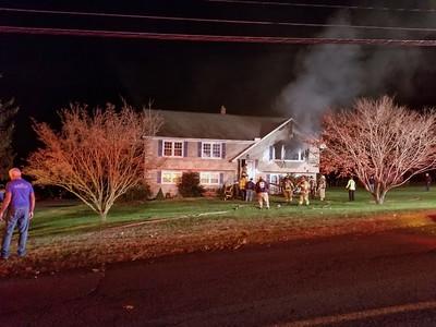 Tomlinson Rd. Fire (Seymour, CT) 12/7/17