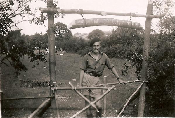1949-08 Summer Camp Rowan near Conwy