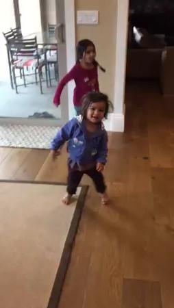 Sahana dancing, playing Apr.-may2016