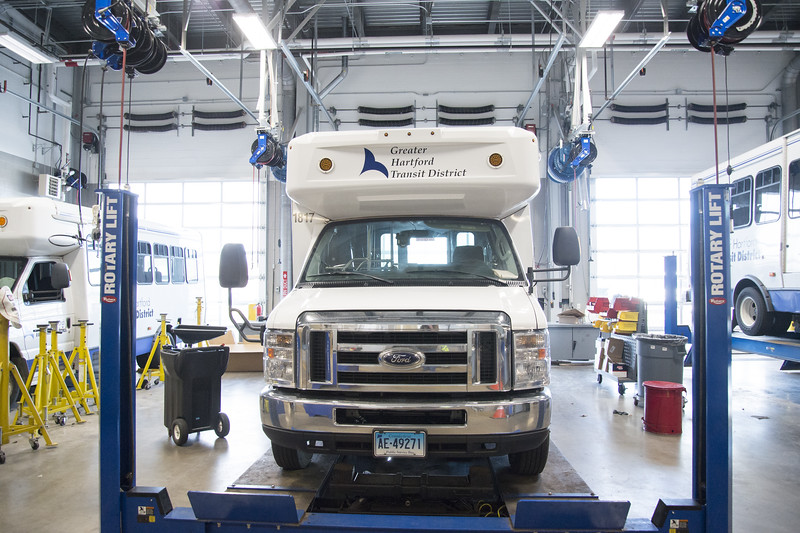 01/15/20  Wesley Bunnell   Staff  A tour of the Greater Hartford Transit District office in East Hartford along with staff from ADA Paratransit service.  Buses undergoing routine maintenance.