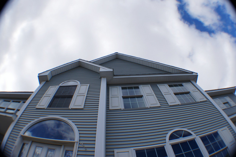Fish-eye of the house