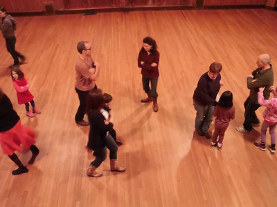 Contra Dancing in Brooklyn and Boston 2014