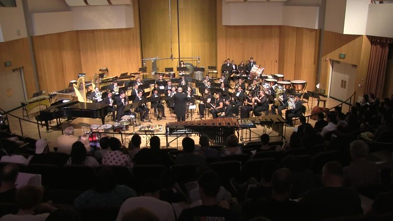 Kevin Misakian (AHS Class 2014), Clainet Soloist & Fresno State Wind Orchestra
